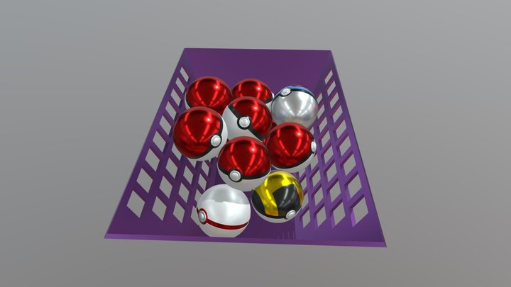 A Visit to the PokeMart! 3D Model