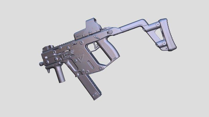Real Kriss Vector Replica 3D Scan 3D Model