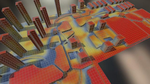 Bldg Vertex Solar 3D Model