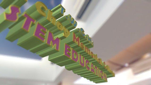 Stem Education 3D Model