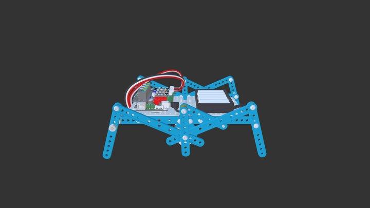 ultimate 2.0 -- robot ant 3D Model