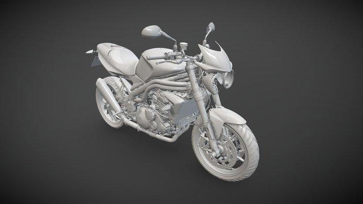 Triumph Speed Triple 3D Model