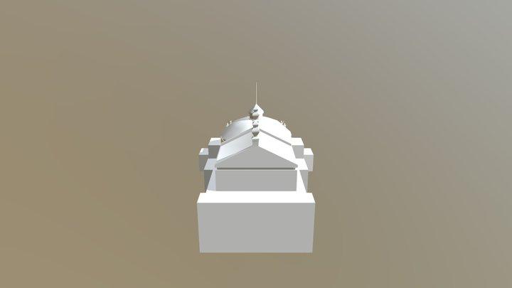 Teatro Municipal 3D Model
