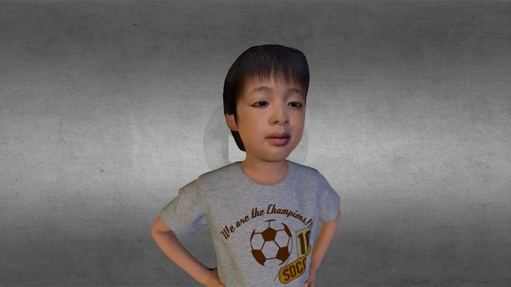 FOTOFIG BOY 3D Model