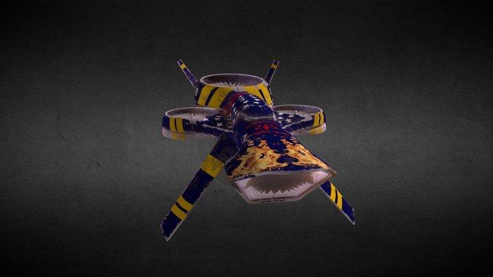 Drone Ricain 3D Model