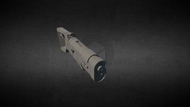 Gun Blaster 3D Model