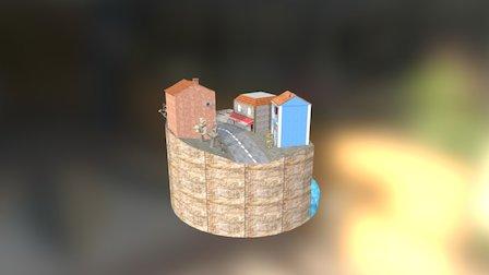 Cityscene dae 3D Model