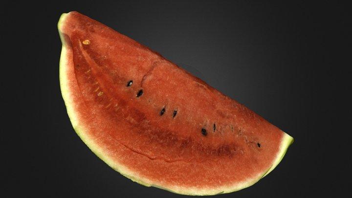 The Watermelon 3D Model