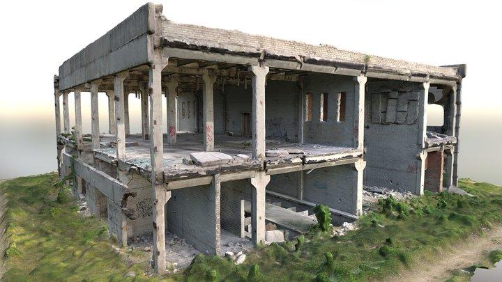 Soviet Wreck 3D Scan 3D Model