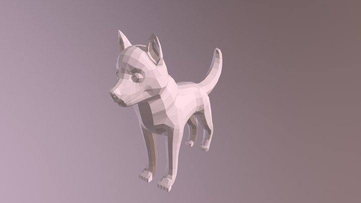 Husky Model Submission Without Subsurf 3D Model