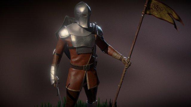 Guard 3D Model