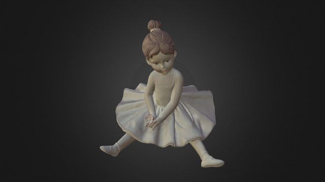 Dancer .OBJ - Scan in a Box 3D Model