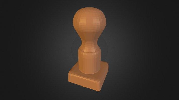 Carimbo 3D Model