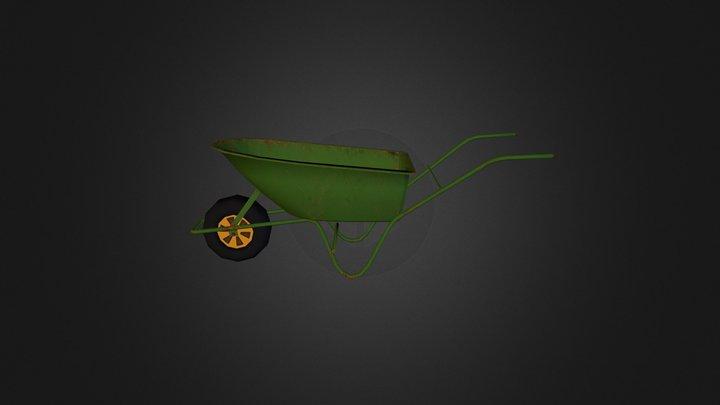 Kruiwagen 3D Model