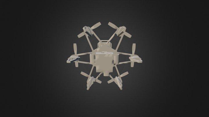 ELF VRdrone 3D Model