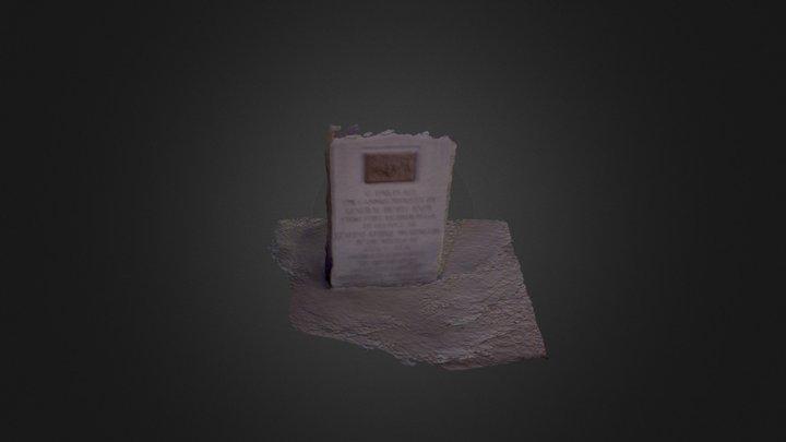 Monument 4 3D Model