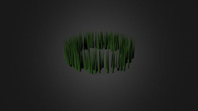 Sneeky The Snook - Grass 3D Model