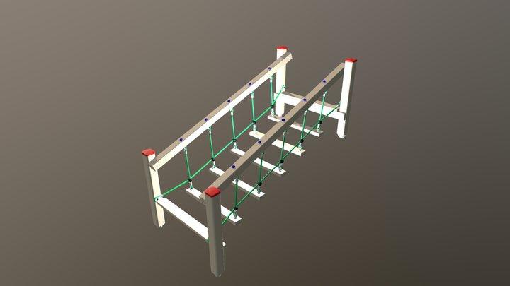 Wackelbrücke 3D Model