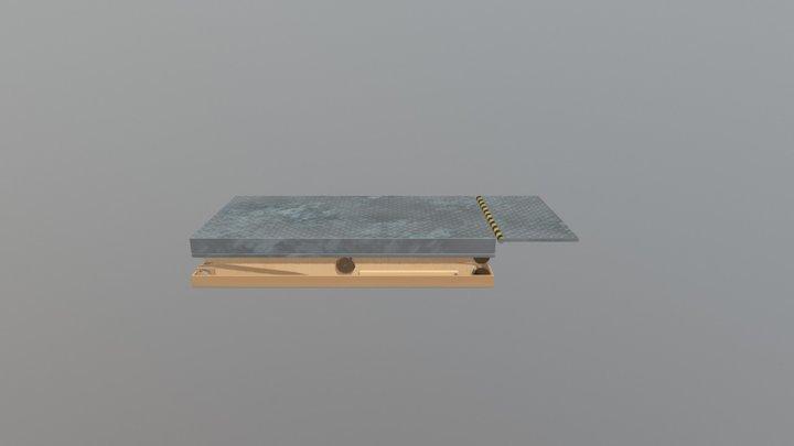 Hydraulic Lift 3D Model