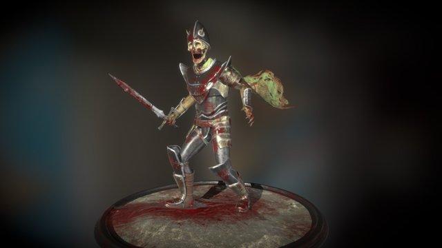 King of Bones 3D Model