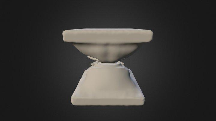 fantasy pedestal 3D Model