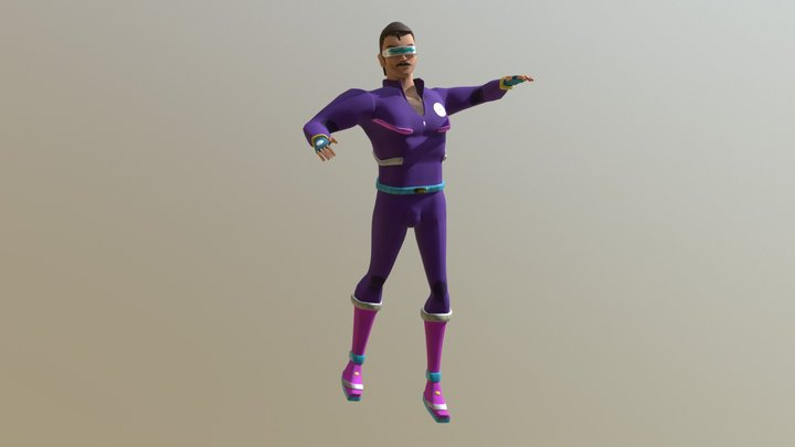 Cosmo (unfinished version) 3D Model