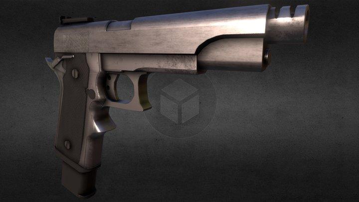 M1911 - Matchmaster 3D Model
