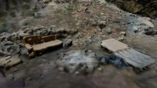 Large cave - TEST - LQ mesh (no textures) 3D Model