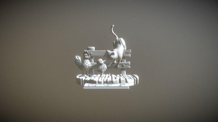 Escena 3 3D Model