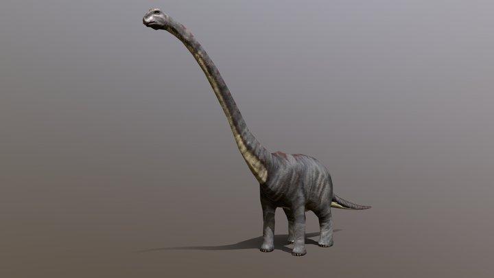 3DRT Dinosaurs - sauropod 3D Model