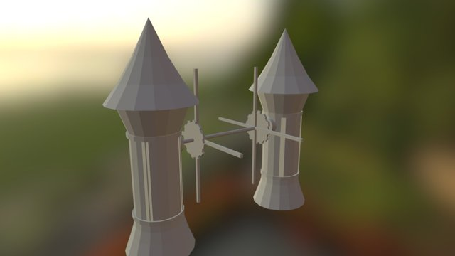 Windmill Prototype 3D Model