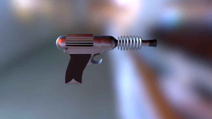 Raygun 3D Model