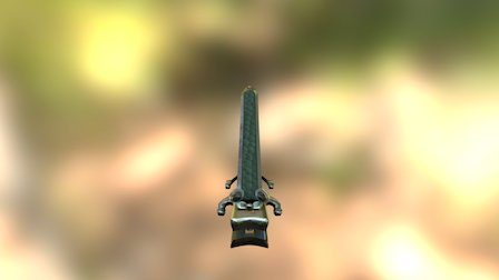 Nail Clipper Crocodile 3D Model