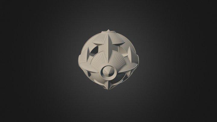 Sphere Ufo Compact OBJ 3D Model