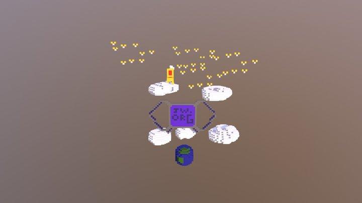 JW.ORG 3D Model