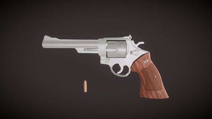 Smith & Wesson Model 29 3D Model