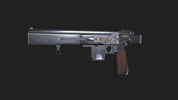 gun for assignment gap 3D Model
