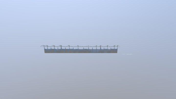 CAMPO DEPORTIVO 3D Model
