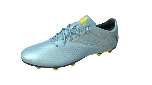 Scanned Adidas Sports Shoe 3D Model