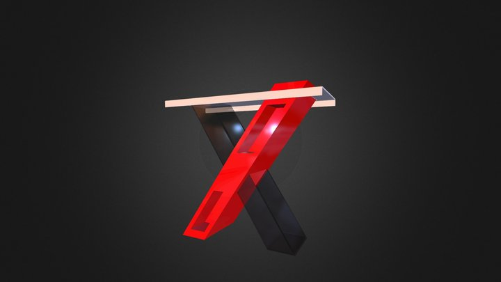 x_table_clear 3D Model
