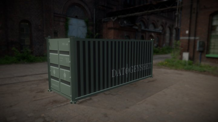 Prop : Shipping Crate 3D Model