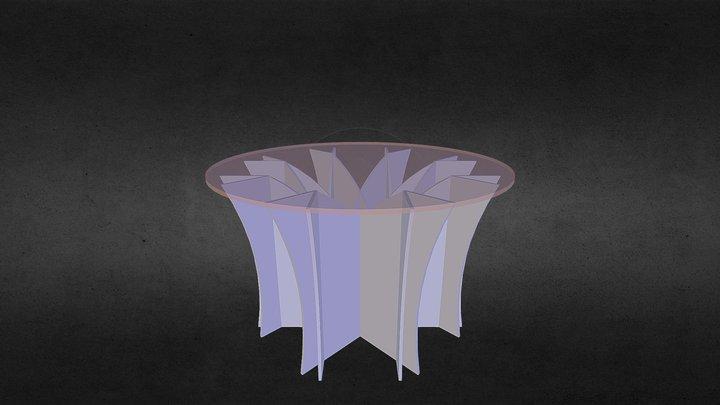 Tavolo 372 3D Model