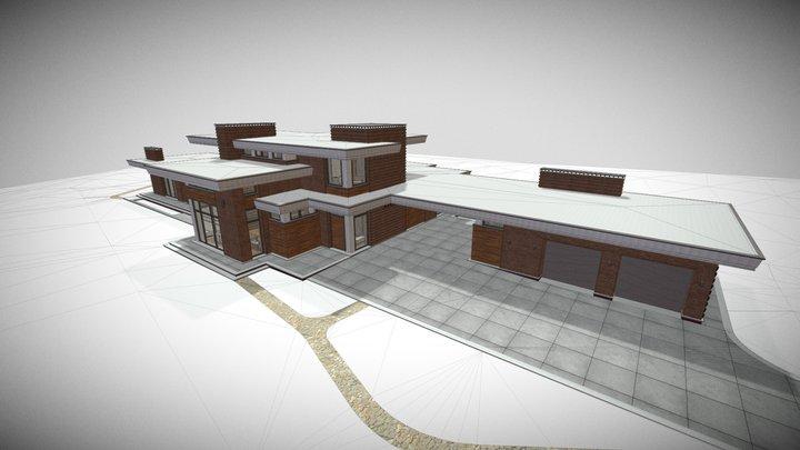 Дом Александра 3D Model