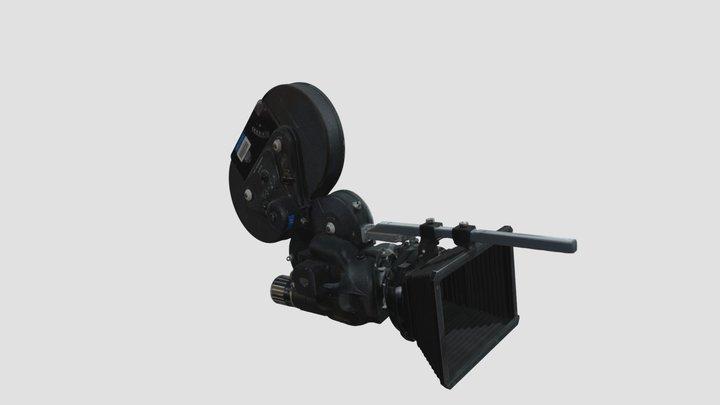 Caméra 16 mm Arri Arriflex 16ST Super 16 3D Model