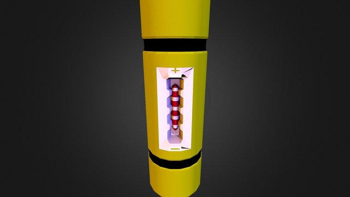 screem canister 3D Model
