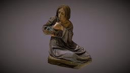 Agrup. Sto. Entierro (Marrajos)- María Magdalena 3D Model