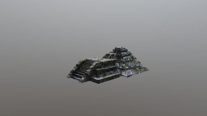 Pyramid/Piramide 3D Model