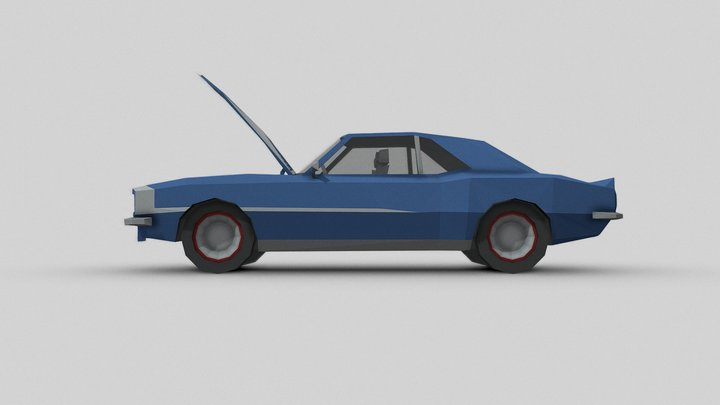 1968 Chevrolet Camaro SS 3D Model