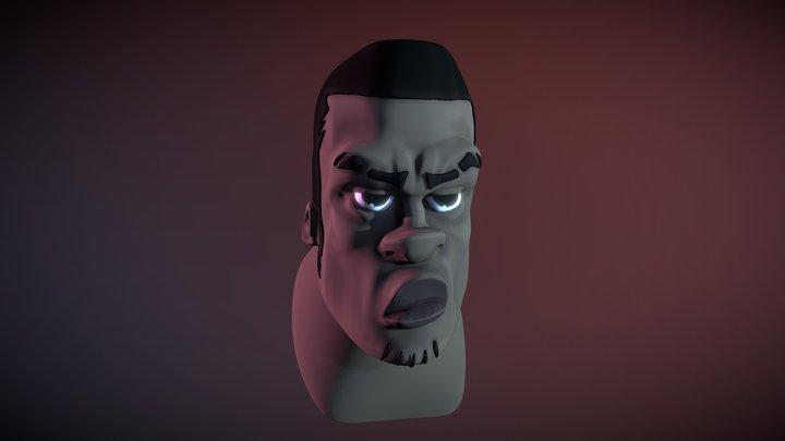 Stylized Creation Head Speedsculpting 3D Model