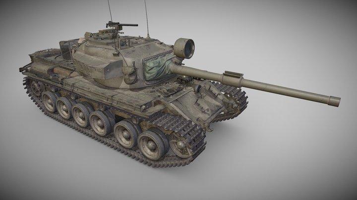 Centurion Mk. 5/1 RAAC 3D Model